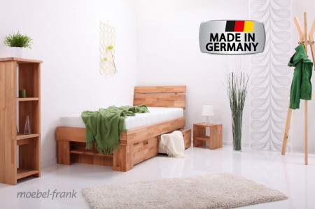 massiv bett doppelbett marion 120x200 mit schubk sten bett massiv mit. Black Bedroom Furniture Sets. Home Design Ideas