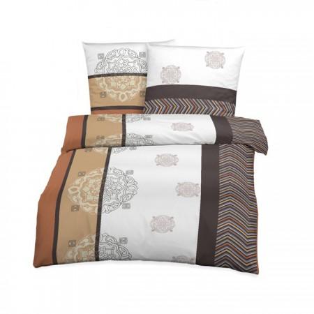 bettw sche setex edelflanell biber design sand 135x200. Black Bedroom Furniture Sets. Home Design Ideas