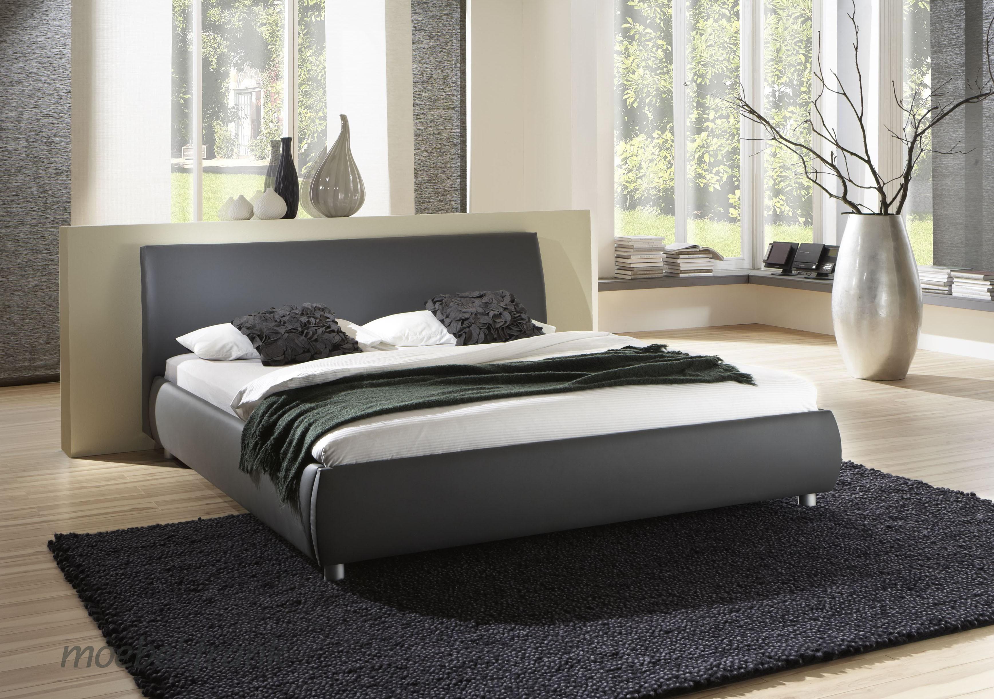 Schlafzimmer mit schwarzem bett – midir